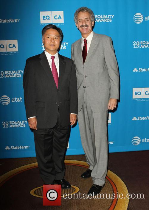 Senator Ted Lieu and Mike Feuer 2