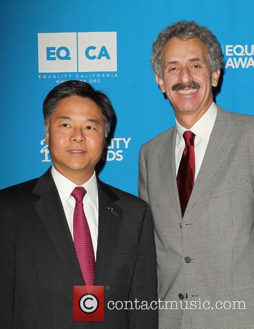 Senator Ted Lieu and Mike Feuer 4