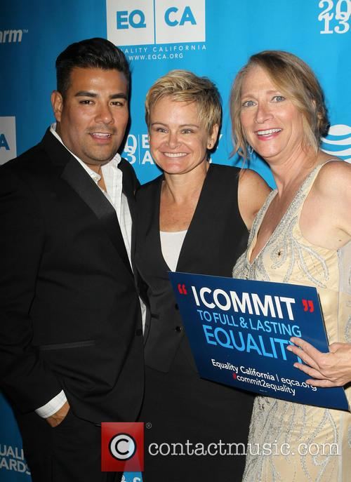 The Honorable Ricardo Lara, Sue Dunlap and The Honorable Betsy Butler 3