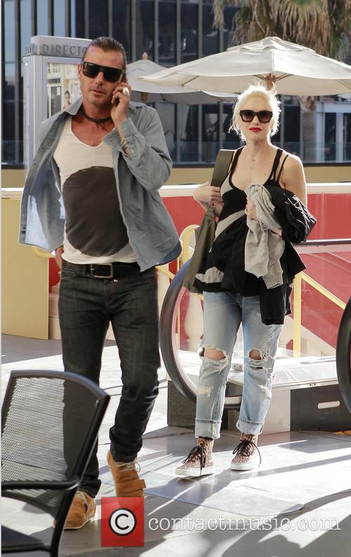Gavin Rossdale and Gwen Stefani 3
