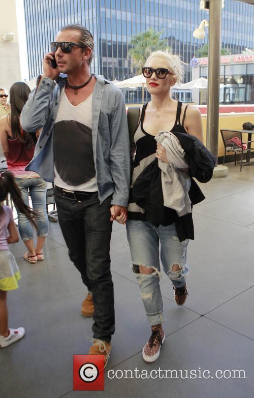Gavin Rossdale and Gwen Stefani 6