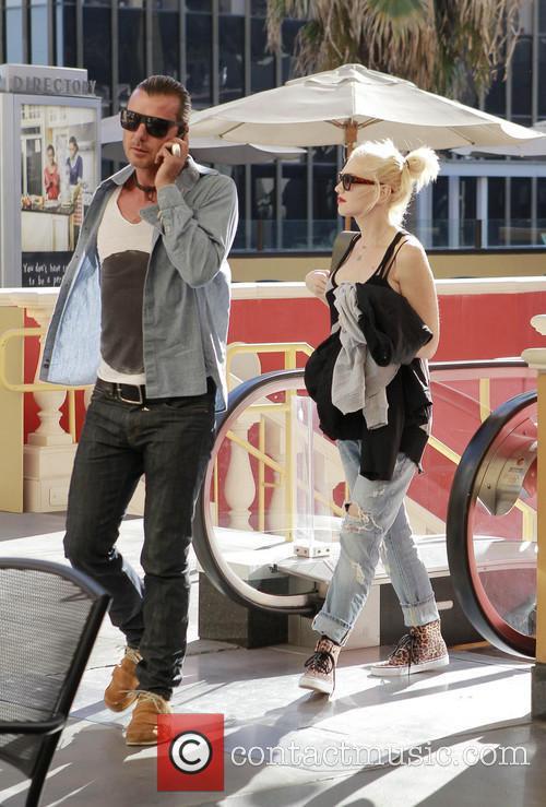 Gwen Stefani And Gavin Rossdale Date Night