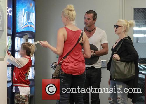 Kingston Rossdale, Gavin Rossdale and Gwen Stefani 6
