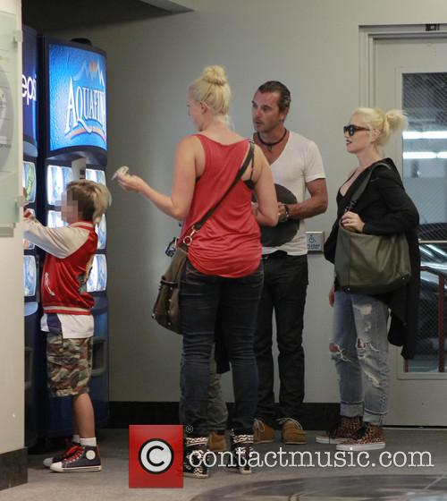 Kingston Rossdale, Gavin Rossdale and Gwen Stefani 11