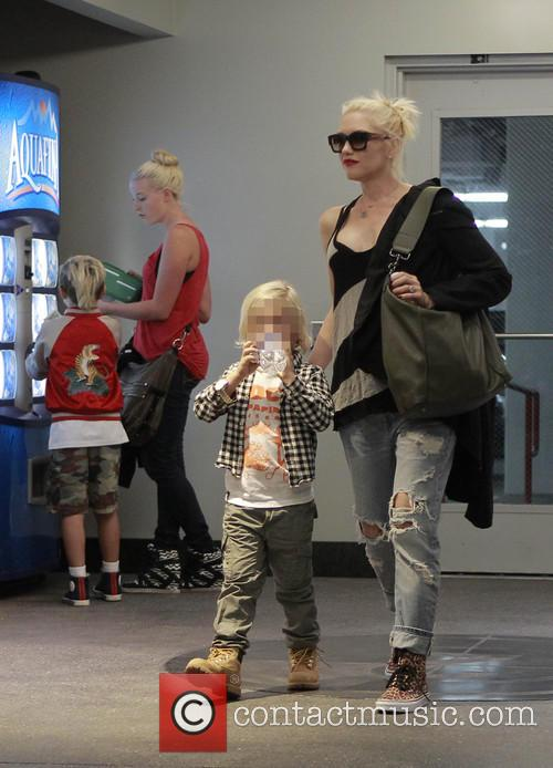 Kingston Rossdale, Zuma Rossdale and Gwen Stefani 7