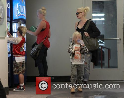 Kingston Rossdale, Zuma Rossdale and Gwen Stefani 8