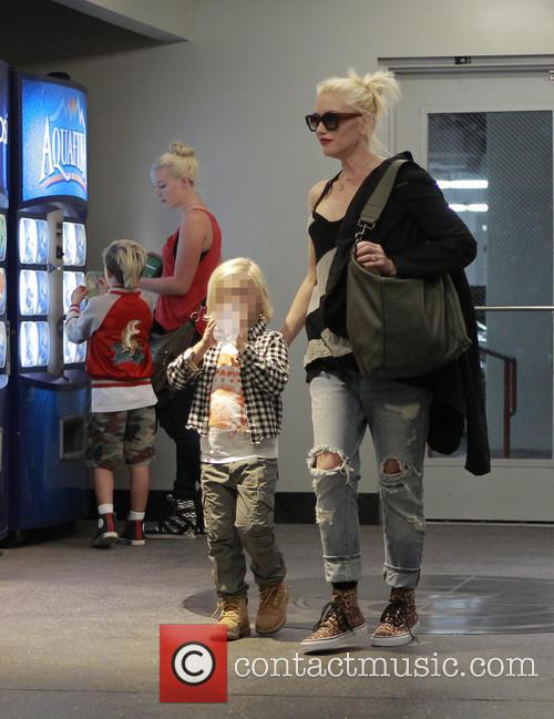 Kingston Rossdale, Zuma Rossdale and Gwen Stefani 9