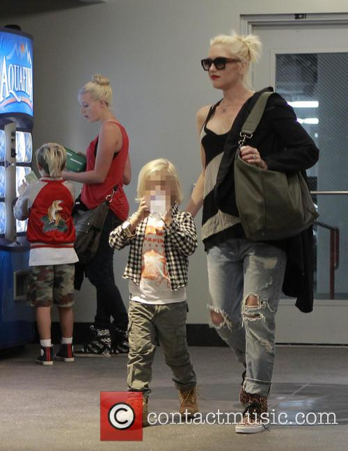 Kingston Rossdale, Zuma Rossdale and Gwen Stefani 10