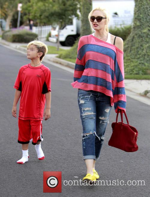Kingston Rossdale and Gwen Stefani 6