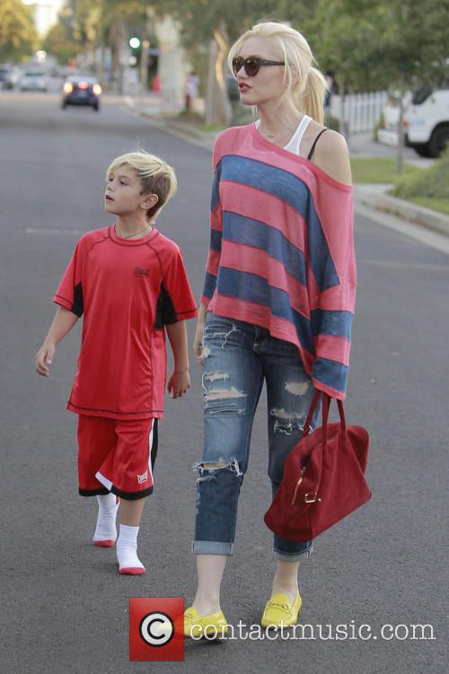 Kingston Rossdale and Gwen Stefani 10