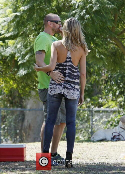 Heidi Klum and Martin Kristen 7