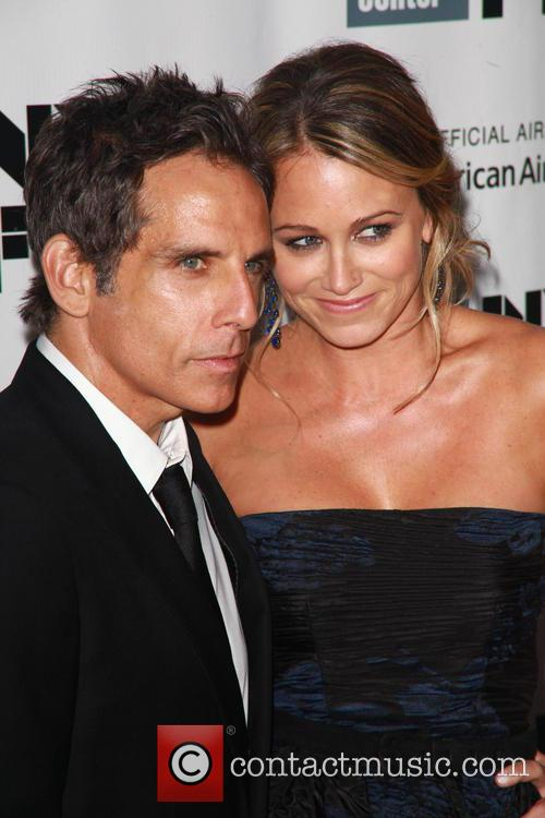 Ben Stiller and Christine Taylor 2