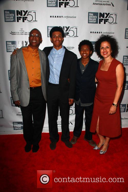 Joe Brewster, Idris Brewster, Miles Brewster and Michele Stephenson 5