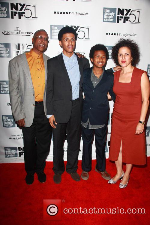 L To R, Joe Brewster, Idris Brewster, Miles Brewster and Michele Stephenson 5