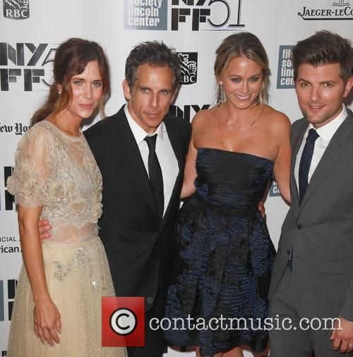 L To R, Kristen Wiig, Ben Stiller, Christine Taylor and Adam Scott 2