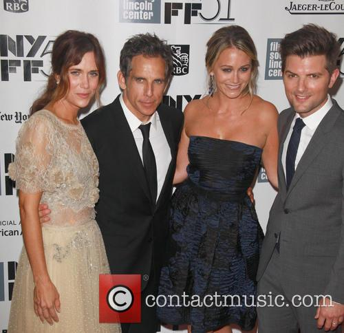 L To R, Kristen Wiig, Ben Stiller, Christine Taylor and Adam Scott 6