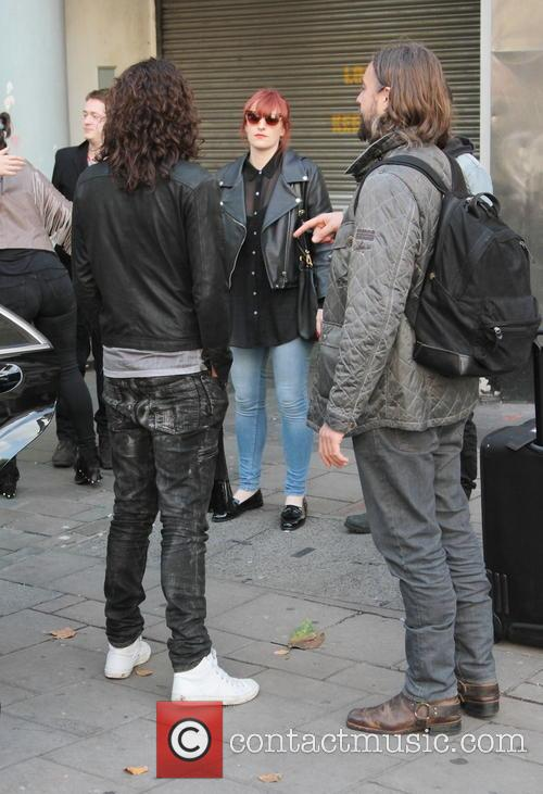Russell Brand out and about