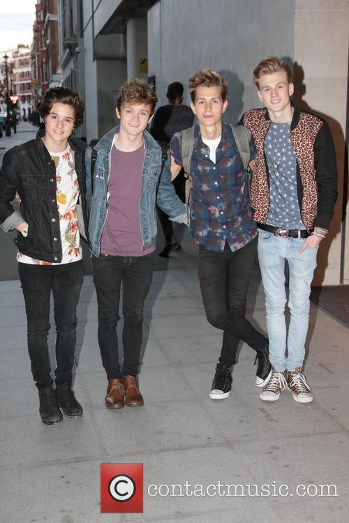The Vamps, Radio One HQ, London