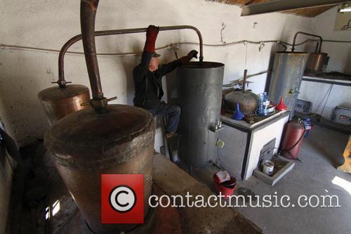 Bulgaria Home Made An Alcoholic Beverage 2