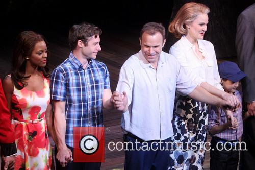 Opening night curtain call for Broadway's Big Fish