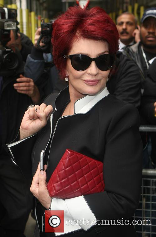 sharon osbourne celebrities outside bbc radio2 3895465