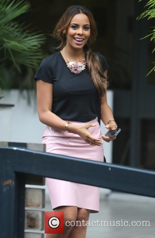 Rochelle Humes and The Saturdays 1