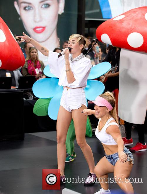 Miley Cyrus on NBC Today Show