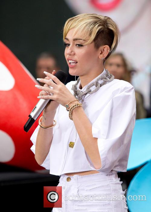Miley Cyrus. The Today Show