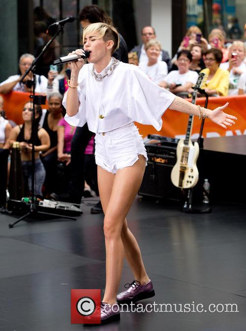 Miley Cyrus, Rockefeller Center
