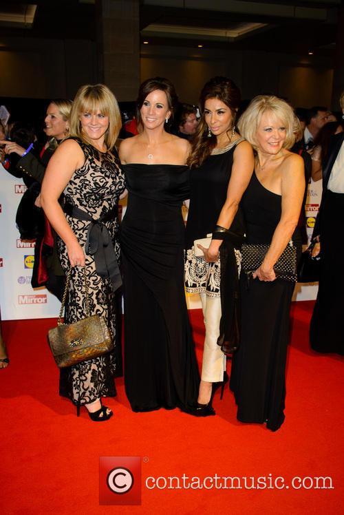 Sally Lindsay, Andrea Mclean, Shobna Gulati and Sherrie Hewson 2