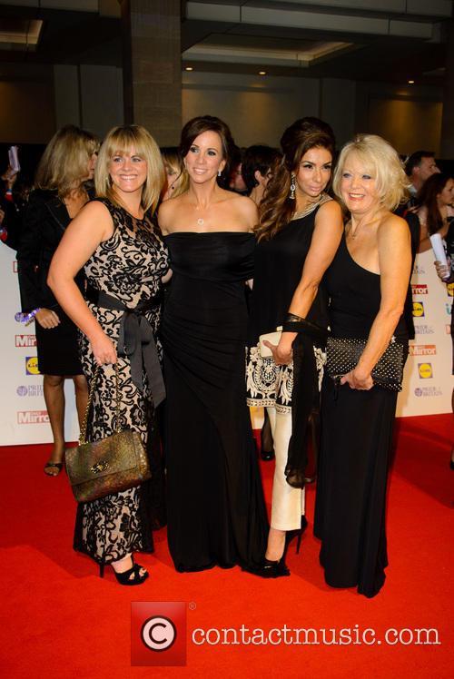 Sally Lindsay, Andrea Mclean, Shobna Gulati and Sherrie Hewson 1