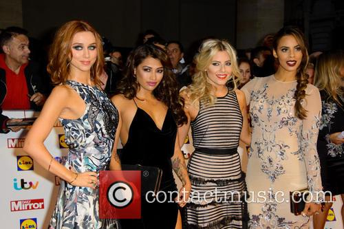 The Saturdays - Una Healy, Vanessa White, Mollie King and Rochelle Humes 2