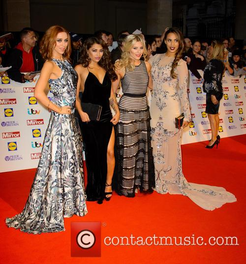 The Saturdays - Una Healy, Vanessa White, Mollie King and Rochelle Humes 3