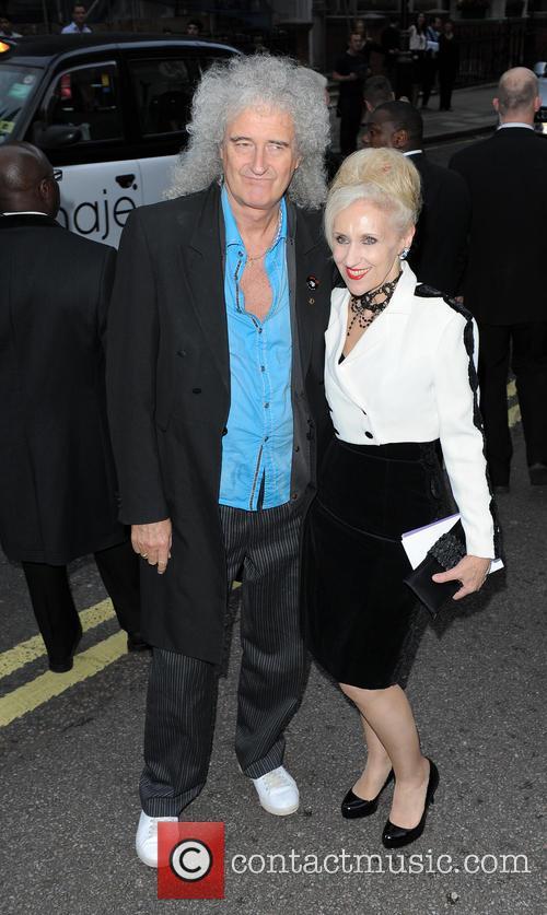 Anita Dobson and Brian May 2
