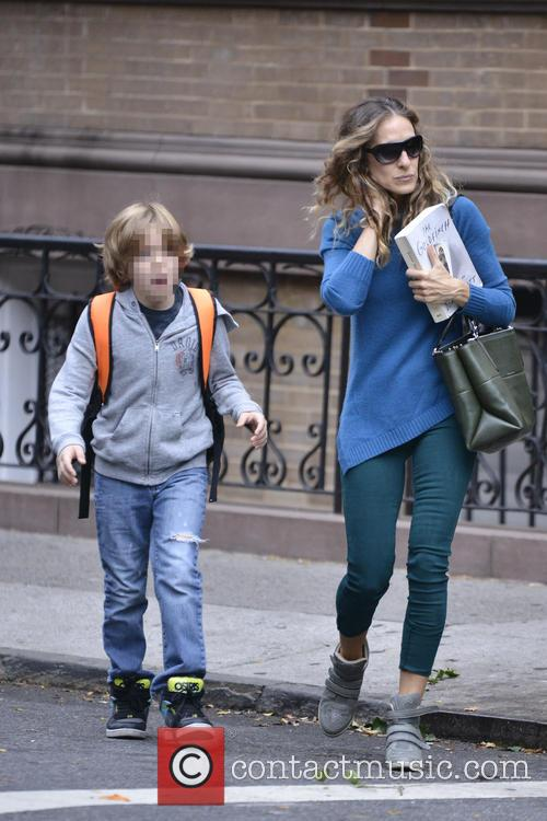 Sarah Jessica Parker and James Wilkie Broderick 4