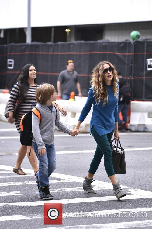 Sarah Jessica Parker and James Wilkie Broderick 5