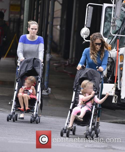 Sarah Jessica Parker, Tabitha Broderick and Marion Broderick 1