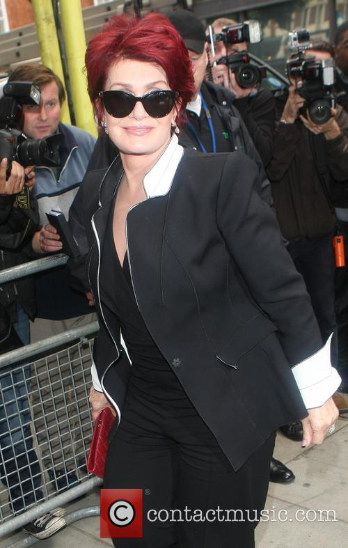 Sharon Osbourne Arriving at Radio2