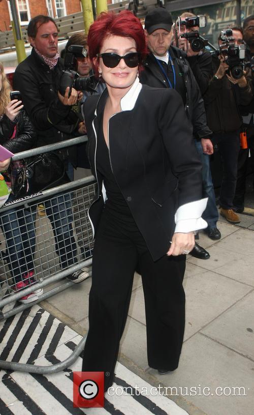 Sharon Osbourne Arriving at Radio2