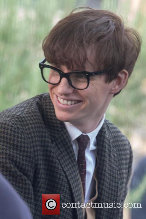 'The Theory of Everything: The Story of Stephen Hawking' filming