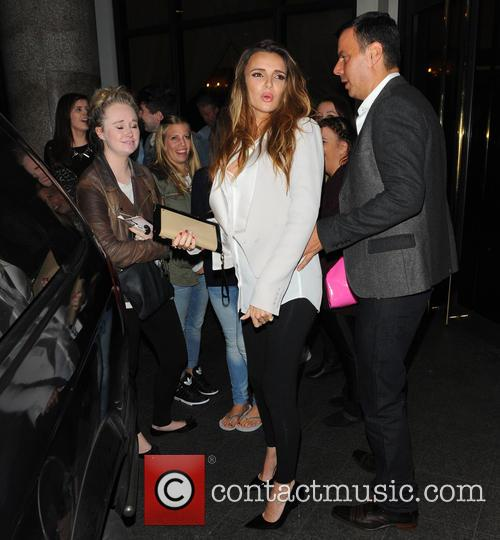 Nadine Coyle at Nordoff Robbins Boxing Dinner