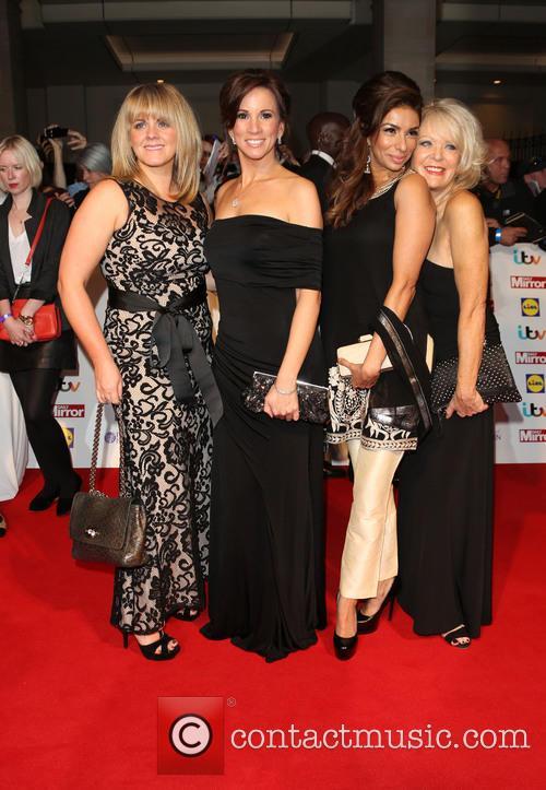 Loose Women, Sally Lindsay, Andrea Mclean, Shobna Gulati and Sherrie Hewson 1