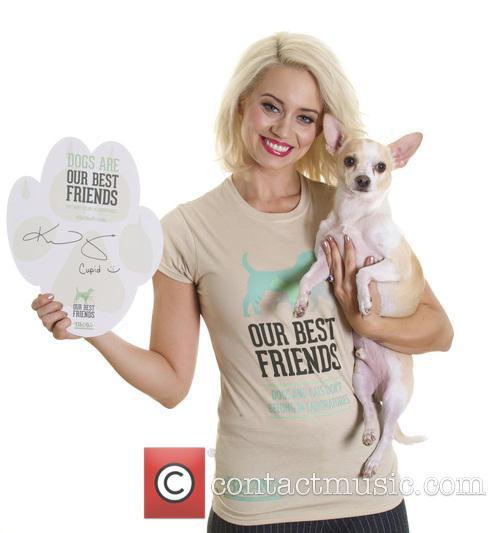Kimberly Wyatt and Cupid 1