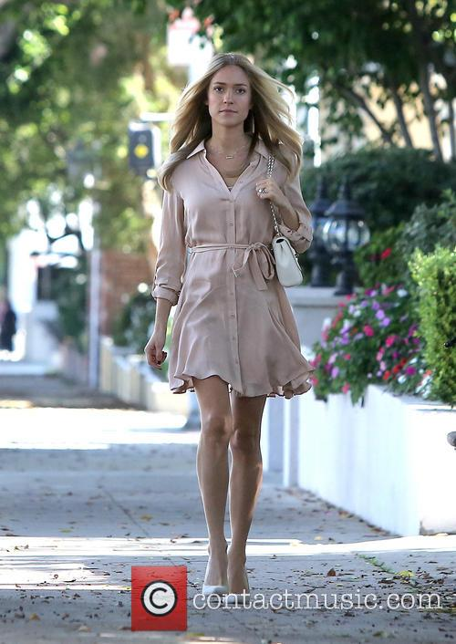 Kristin Cavallari departs a salon
