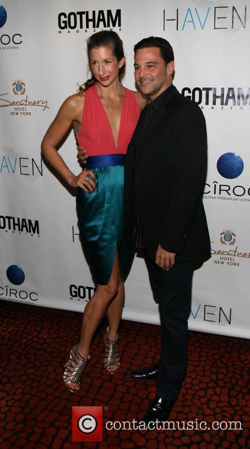 Alysia Reiner and David Alan Basche 4