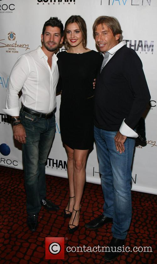 Brandon Freid, Miss Usa Erin Brady and Hank Freid 4