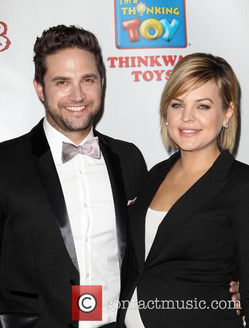 Brandon Barash and Kirsten Storms 1