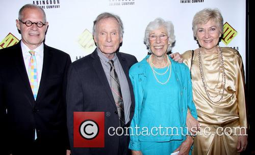 Brian Richard Mori, Dick Cavett, Frances Sternhagen and Jan Buttram