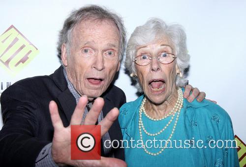 Dick Cavett and Frances Sternhagen 1