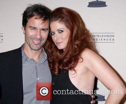 Eric McCormack and Debra Messing 2